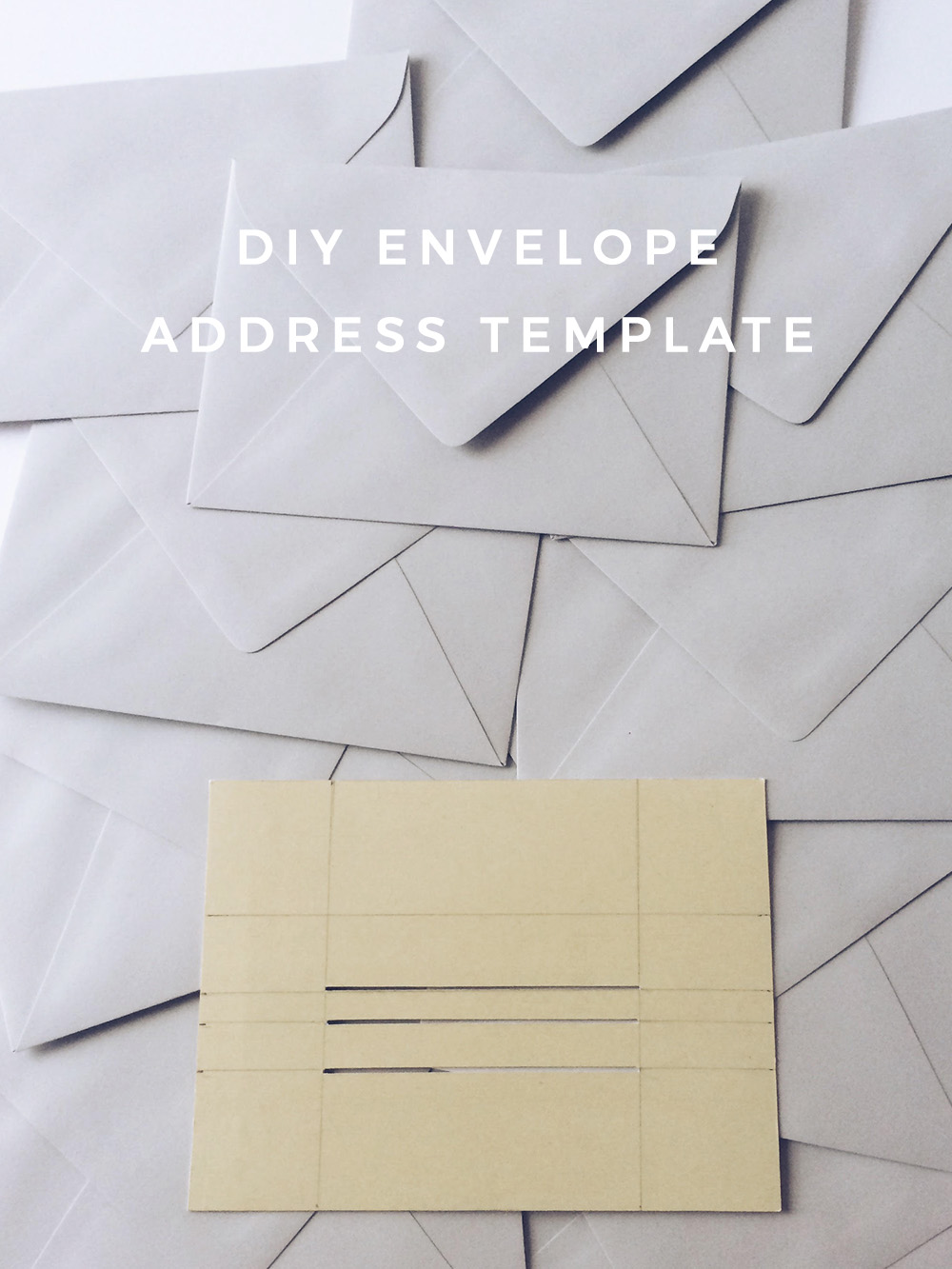 DIY Envelope Address Template – Owl Ink