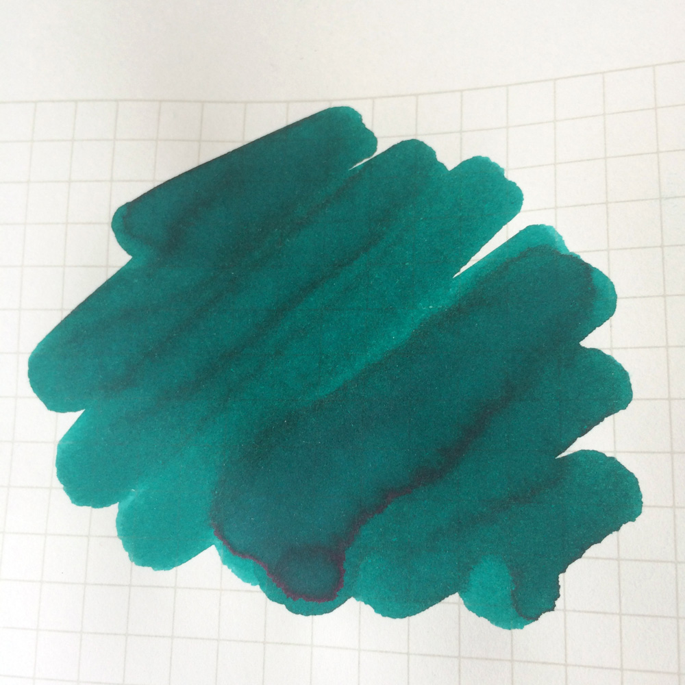 Ink Review: Levenger Gemstone Green