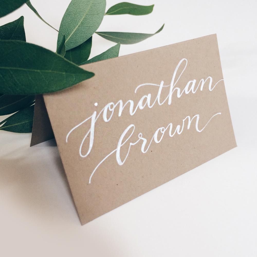 Owl Ink Place Cards