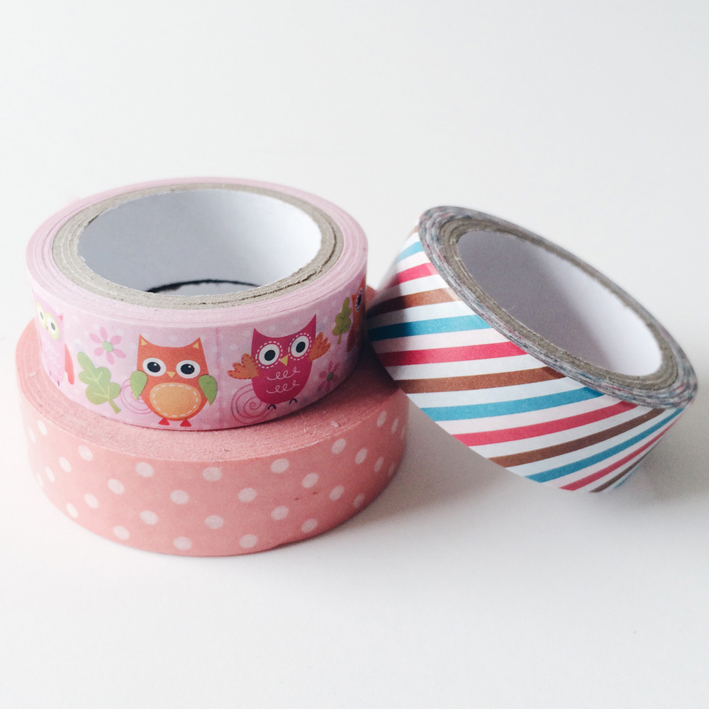 Recent Stationery Hauls - Washi Tapes