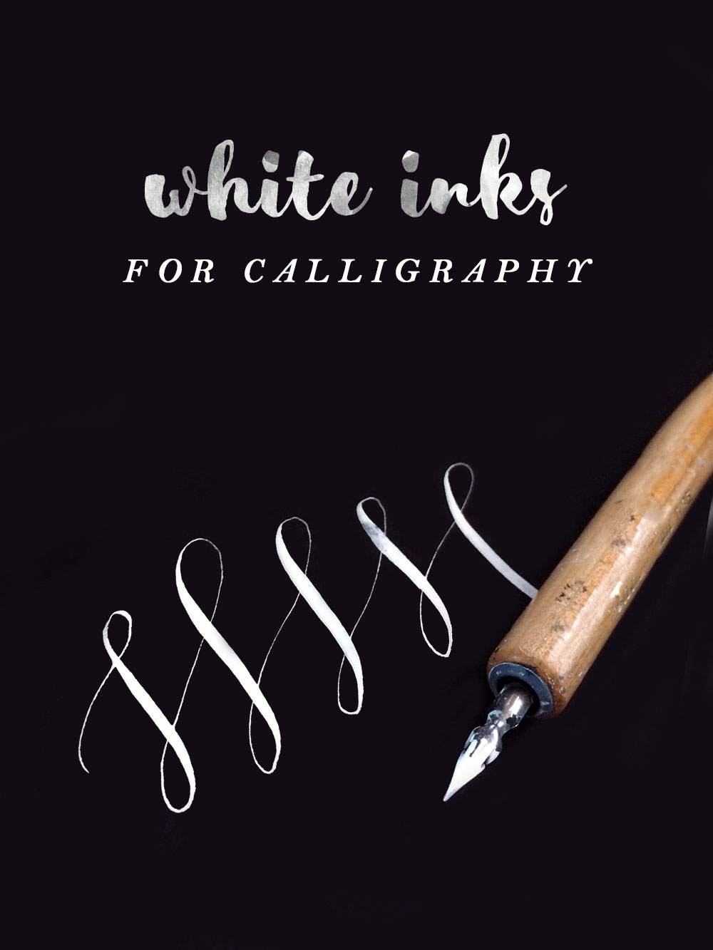 Review White Inks For Calligraphy Owl Ink