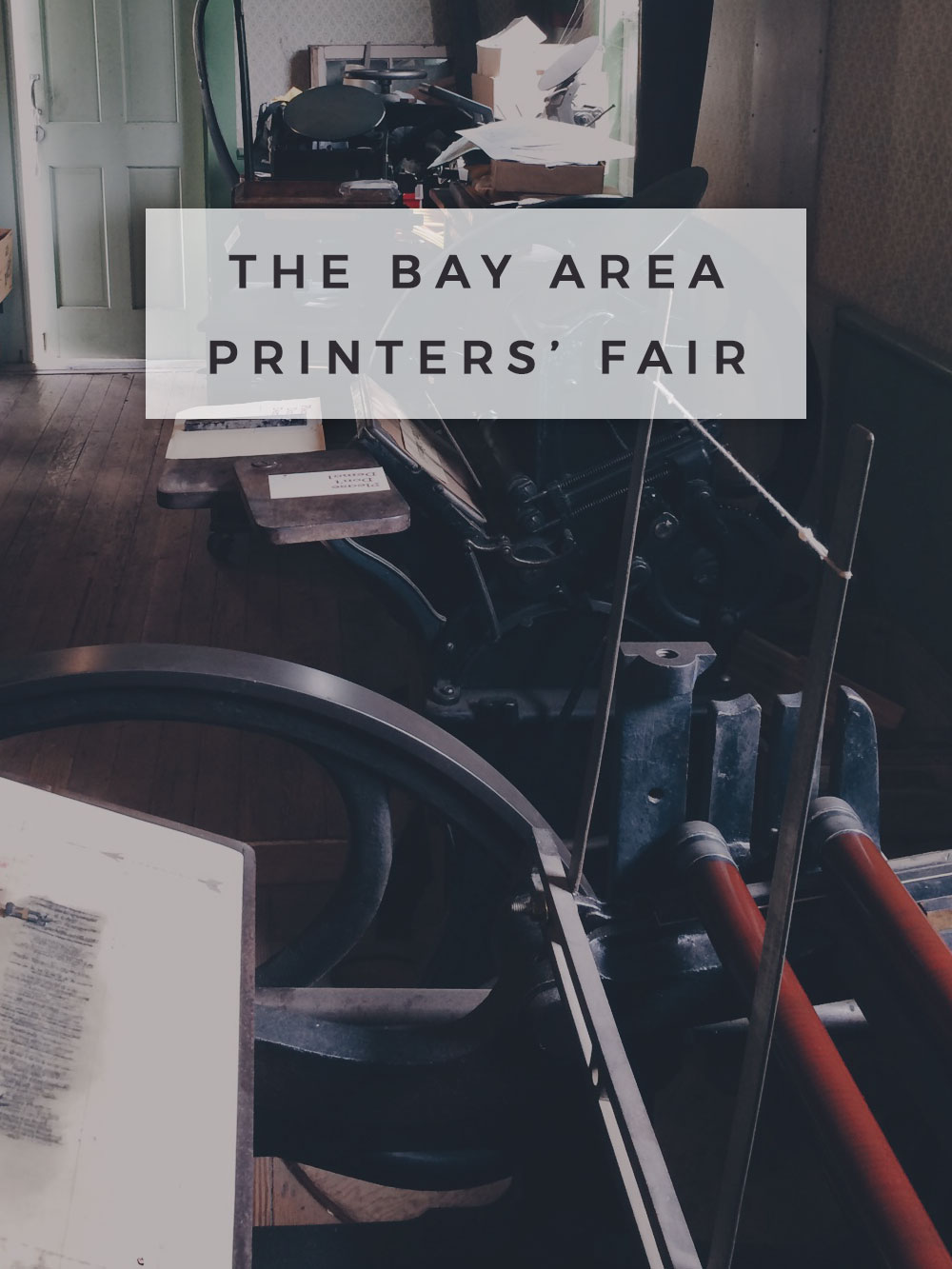 Owl Ink | Bay Area Printers' Fair