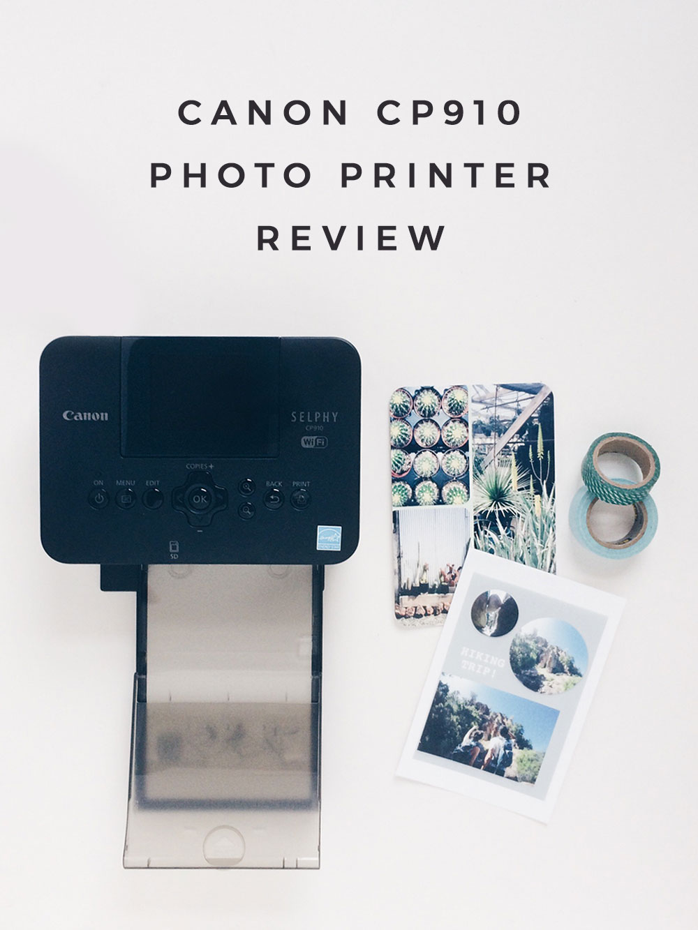 Owl Ink | Canon Selphy CP910 Photo Printer Review