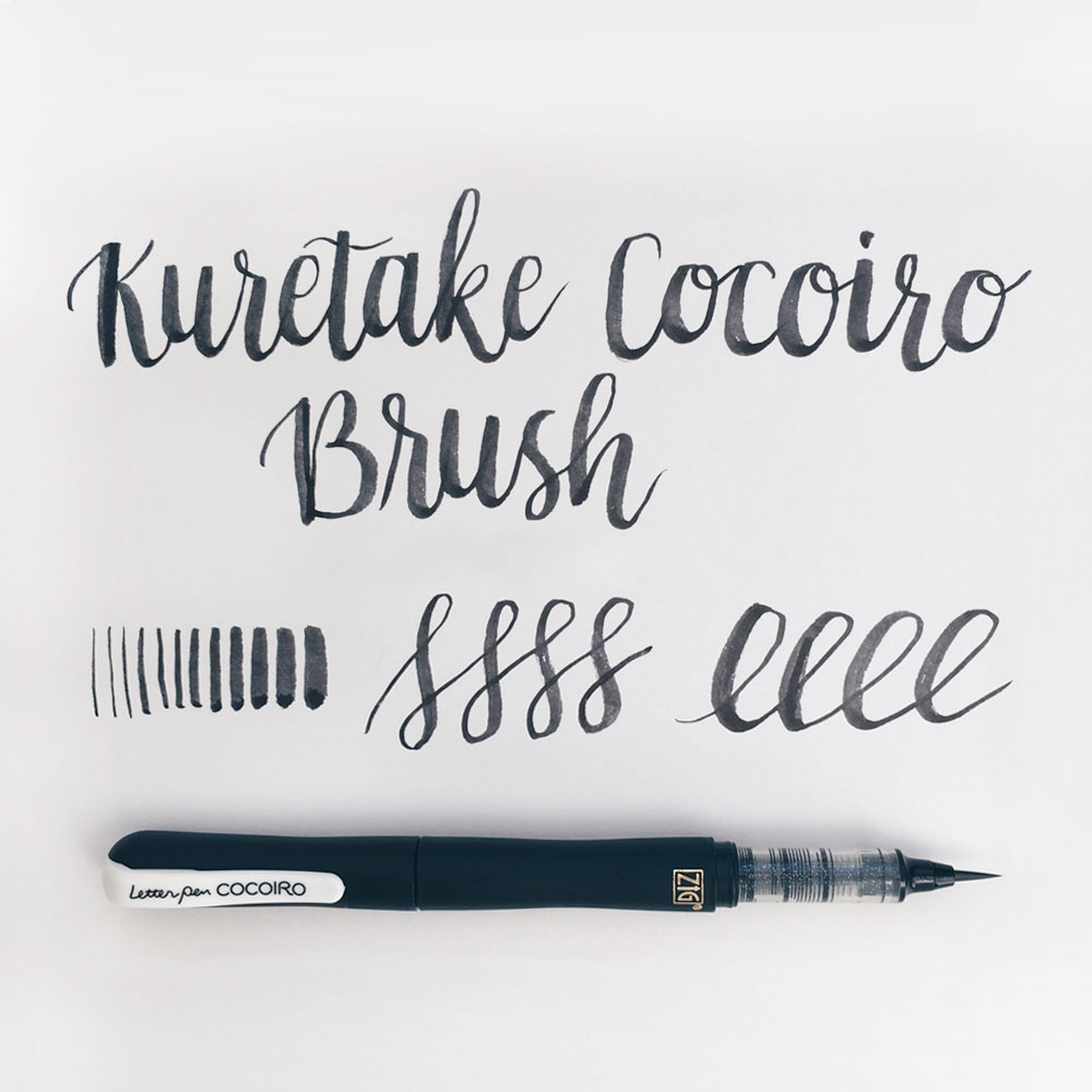 Owl Ink Review | Kuretake CocoIro Lettering Pens