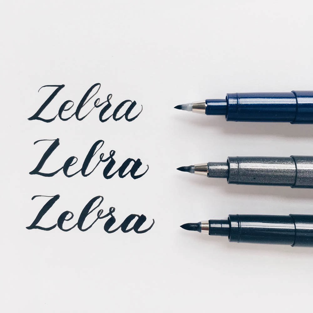 Owl Ink Review | Zebra Brush Pens Review
